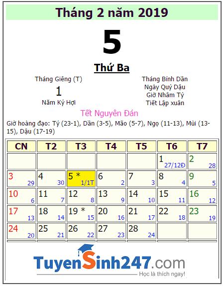 Calendar Template Vb2