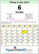 Giỗ tổ Hùng Vương năm 2017 vào ngày mấy?