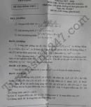 Đáp án đề thi vào lớp 10 môn Toán chuyên Tiền Giang 2017