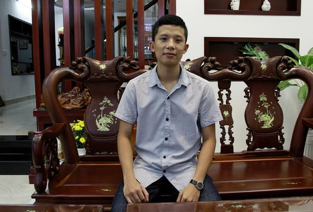 Thủ khoa Hoàng Huy Thông.