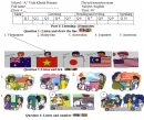 Đề thi giữa học kì 1 lớp 4 môn Tiếng Anh 2017 - TH Vĩnh Khánh