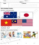 Đề thi giữa kì 1 lớp 4 môn tiếng Anh năm 2017