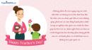 Những mẫu thiệp 20/11 đẹp và ý nghĩa dành tặng thầy cô giáo
