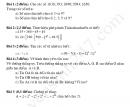 Đề thi khảo sát giữa kì 1 THCS Lai Đồng - Môn Toán lớp 6