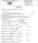 Đề thi học kì 1 lớp 10 môn Toán 2017 - Chuyên Hạ Long