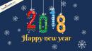 Những mẫu thiệp chúc mừng năm mới 2018 đẹp nhất
