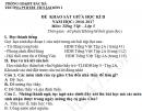Đề thi giữa kì 2 lớp 5 môn Tiếng Việt 2017 TH Nậm Mòn 1