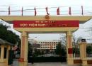 Học viện Khoa học quân sự tuyển 155 chỉ tiêu 2018