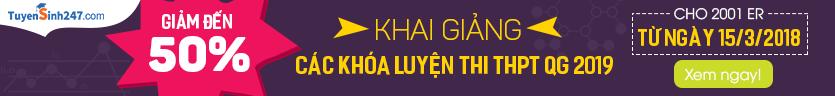 Khai giảng luyện thi THPT QG 2019