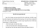 Đề thi học kì 2 lớp 2 môn Tiếng Việt 2017 - TH Trần Thệ