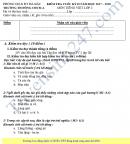 Đề kiểm tra học kì 2 lớp 2 môn Tiếng Việt - Tiểu học Đồng Chum 2018