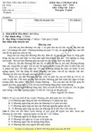 Đề thi học kì 2 lớp 5 môn Tiếng Việt - Tiểu học Phú Lương 1 năm 2018