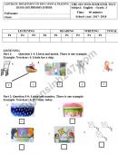 Đề kiểm tra học kì 2 lớp 3 môn Anh - Tiểu học Quảng Sơn 2018