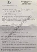 Đề thi thử vào lớp 10 môn Toán 2018 - THPT Lương Thế Vinh