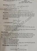 Đề thi thử vào lớp 10 môn Toán lần 2 năm 2018 - THCS Láng Thượng