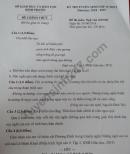 Đáp án đề thi vào lớp 10 môn Văn tỉnh Bình Phước 2018