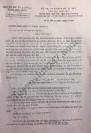 Đáp án đề thi vào lớp 10 môn Văn  - tỉnh Ninh Bình 2018