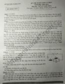 Đáp án đề thi vào lớp 10 môn Lý chuyên tỉnh Bình Dương