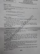 Đáp án đề thi vào lớp 10 môn toán chuyên TPHCM năm 2018