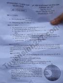 Đáp án đề thi vào lớp 10 môn Toán tỉnh Quảng Ngãi 2018
