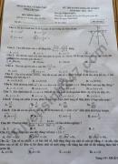 Đáp án đề thi vào lớp 10 môn toán tỉnh Yên Bái 2018