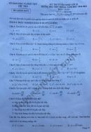 Đáp án đề thi tuyển sinh vào lớp 10 môn toán tỉnh Phú Thọ 2018