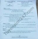 Đáp án đề thi vào lớp 10 môn Văn - Sở GDDT Thanh Hóa 2018