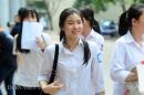 Hà Tĩnh công bố điểm thi vào lớp 10 năm 2018