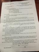 Đáp án đề thi vào lớp 10 môn Văn tỉnh Lạng Sơn 2018