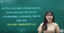 Video hướng dẫn điều chỉnh nguyện vọng xét tuyển ĐH, CĐ 2018