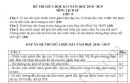 Đề thi giữa kì 1 lớp 8 môn Sử 2018 - THCS Trần Phú