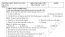Đề kiểm tra giữa học kì 1 môn Sinh lớp 7 THCS Cao Vân