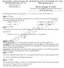 Đề kiểm tra giữa kì 1 lớp 11 môn Hóa 2018 - THPT Chu Văn An