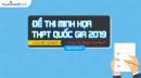 Bộ GD công bố đề thi minh họa THPT QG 2019 - Tất cả các môn