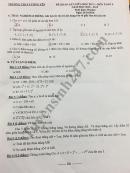 Đề thi giữa học kì 1 môn toán lớp 6 - THCS Lương Yên năm 2018