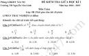 Đề thi giữa kì 1 lớp 5 môn Toán 2018 - 2019 TH Nguyễn Văn Linh