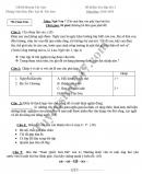 Đề thi học kỳ 1 lớp 7 môn Văn - Phòng GD Huyện Tây Sơn năm 2018