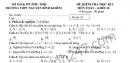 Đề kiểm tra học kì 1 môn toán lớp 10 năm 2018 trường Nguyễn Bỉnh Khiêm
