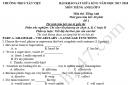Đề thi giữa kì 2 lớp 9 môn Anh THCS Tân Việt 2018