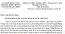 Đề thi giữa học kì 2 lớp 11 môn Văn - THPT Chuyên Nguyễn Quang Diêu