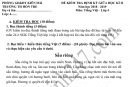 Đề thi giữa kì 2 lớp 4 môn Tiếng Việt - TH Hòn Tre 2019