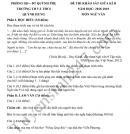 Đề thi giữa kì 2 lớp 9 môn Văn 2019 - THCS Quỳnh Hưng