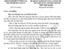 Đề thi giữa kì 2 lớp 9 môn Văn 2019 - TP Bắc Giang