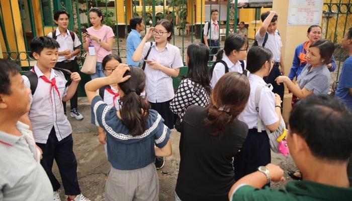 Bac Giang cong bo mon thi thu tu vao lop 10 nam 2019