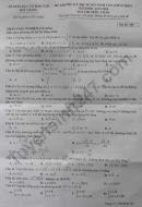 Đề thi thử vào lớp 10 môn Toán - Sở GD Bắc Giang 2019