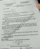 Đề kiểm tra kì 2 lớp 9 môn Toán Quận Hà Đông 2019