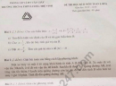 Đề thi học kì 2 lớp 8 môn Toán - THCS Lương Thế Vinh