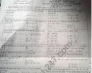 Đề thi học kì 2 môn Toán lớp 8 - Huyện Vạn Ninh 2019