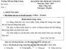 Đề kiểm tra kì 2 lớp 1 môn Tiếng Việt 2019 - TH Hiệp Cường
