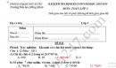 Đề thi học kì 2 môn Toán lớp 3 - TH Hồng Minh 2019 (có đáp án)